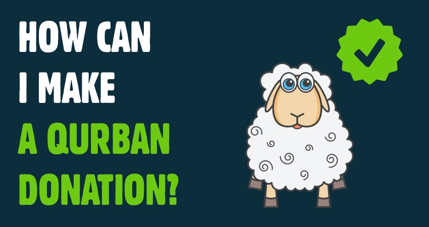 How can I make a QURBAN DONATION?